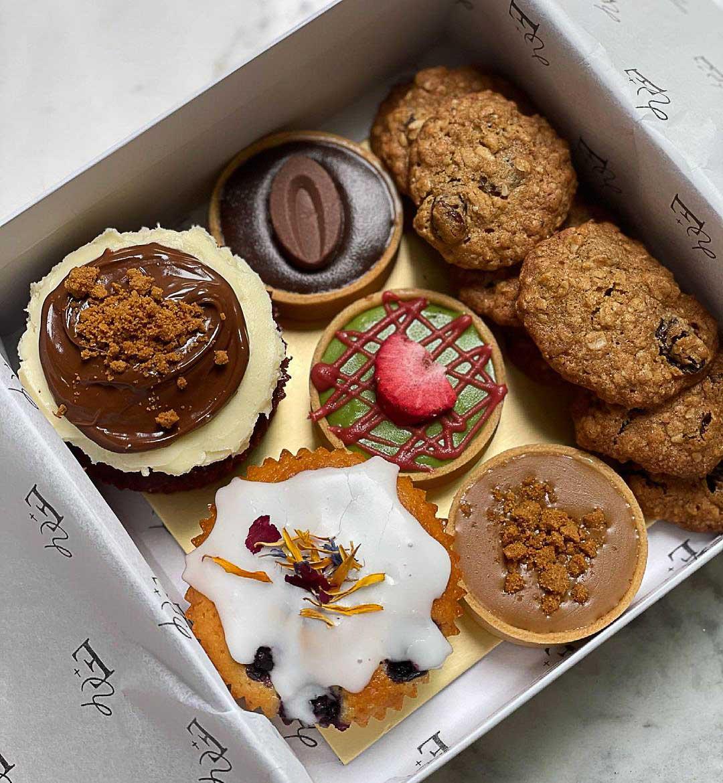 Dessert box delivery - ester grace cake