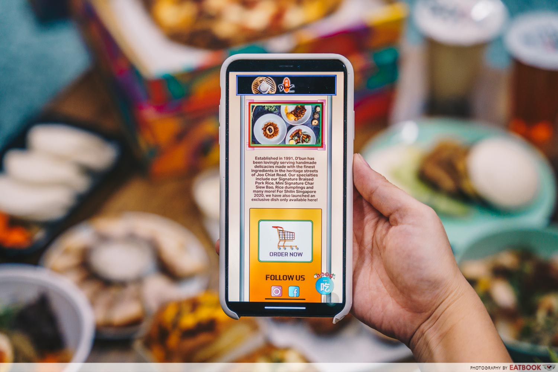 Digital shilin singapore - event page EAT