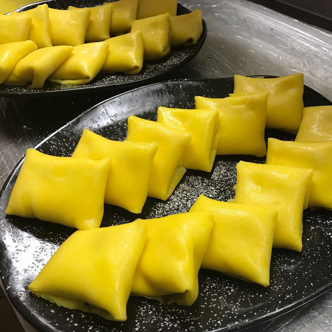 Durian Dessert Recipes - Durian Cream Crepe