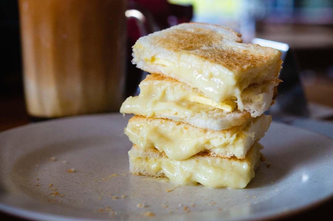 Durian Dessert Recipes - Durian Jam on toast