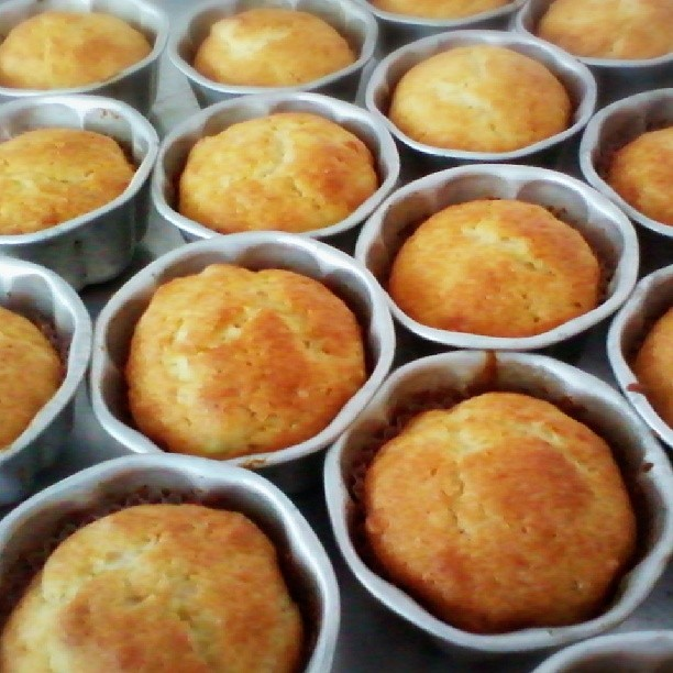 Durian Dessert Recipes - Durian Mini Muffins