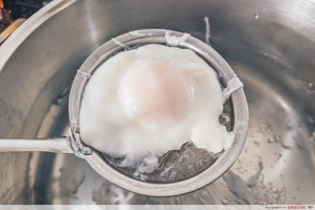 Easy Boiled Egg Recipes poached egg water