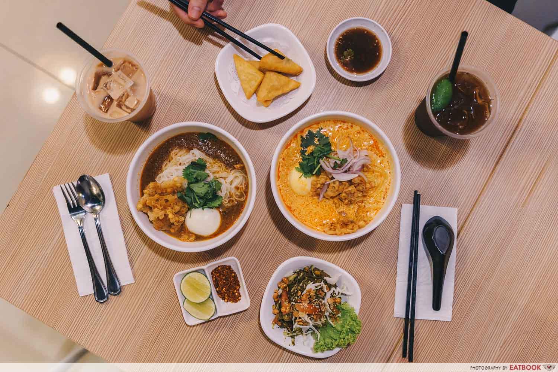 Inle Myanmar Restaurant - Flatlay
