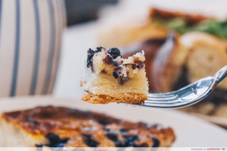 Kamome Bakery - Blueberry Tart Closeup