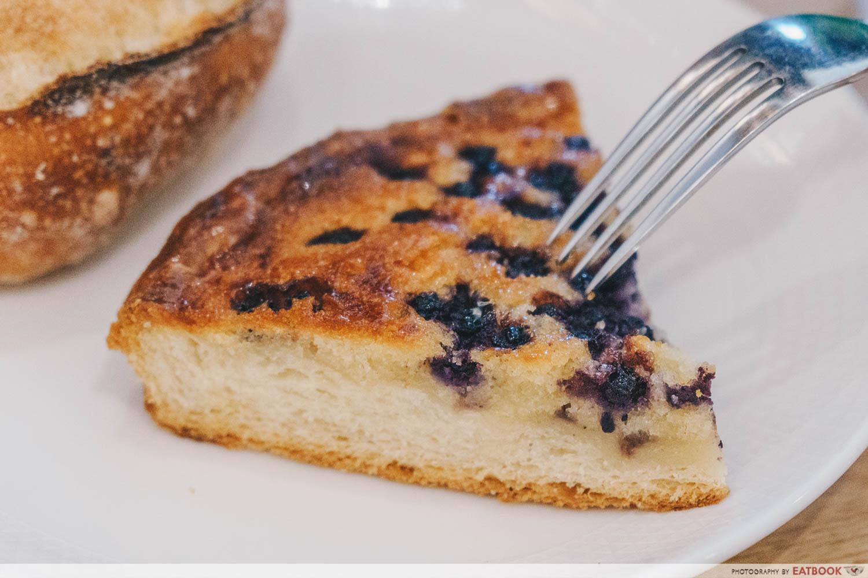 Kamome Bakery - Blueberry Tart