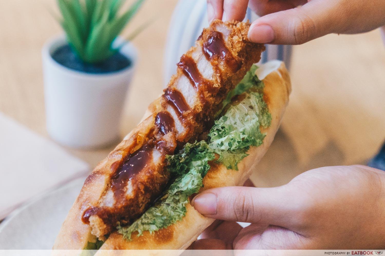 Kamome Bakery - Pork Cutlet Interaction