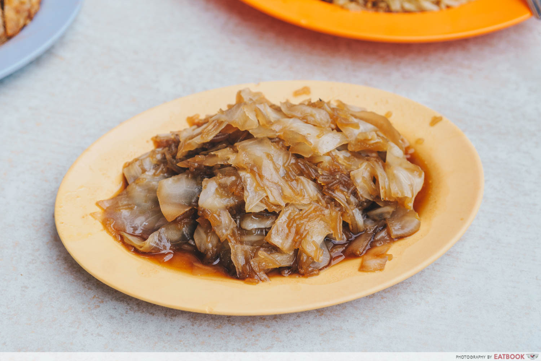 Loo's Hainanese Curry Rice - Chap chye intro shot