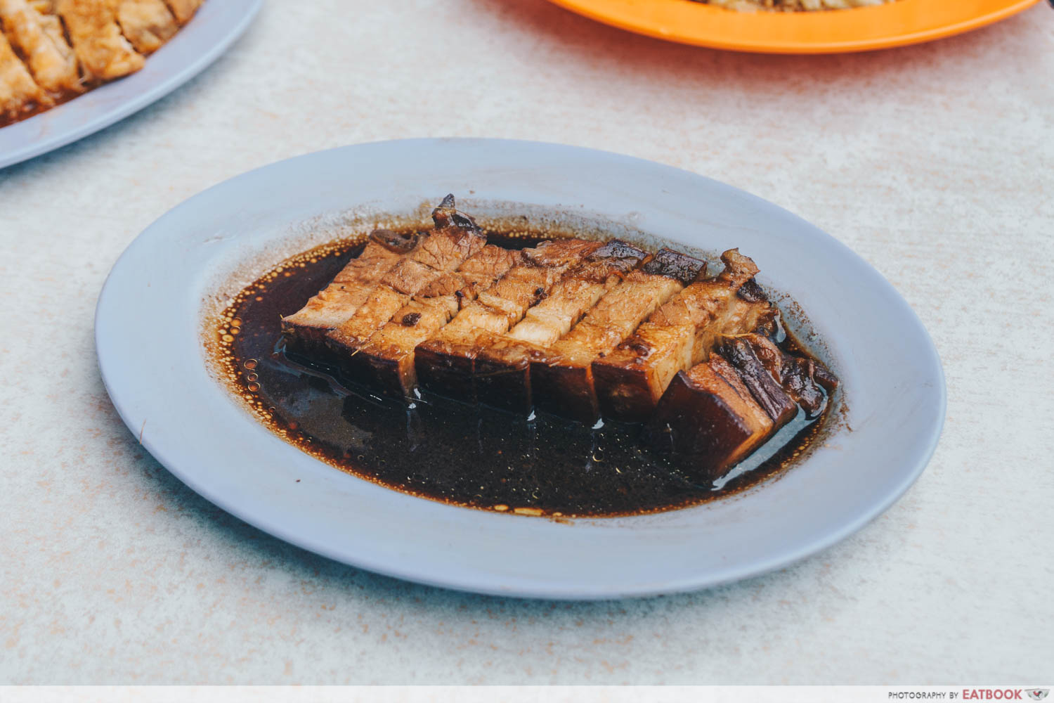Loo's Hainanese Curry Rice - Pork belly intro shot