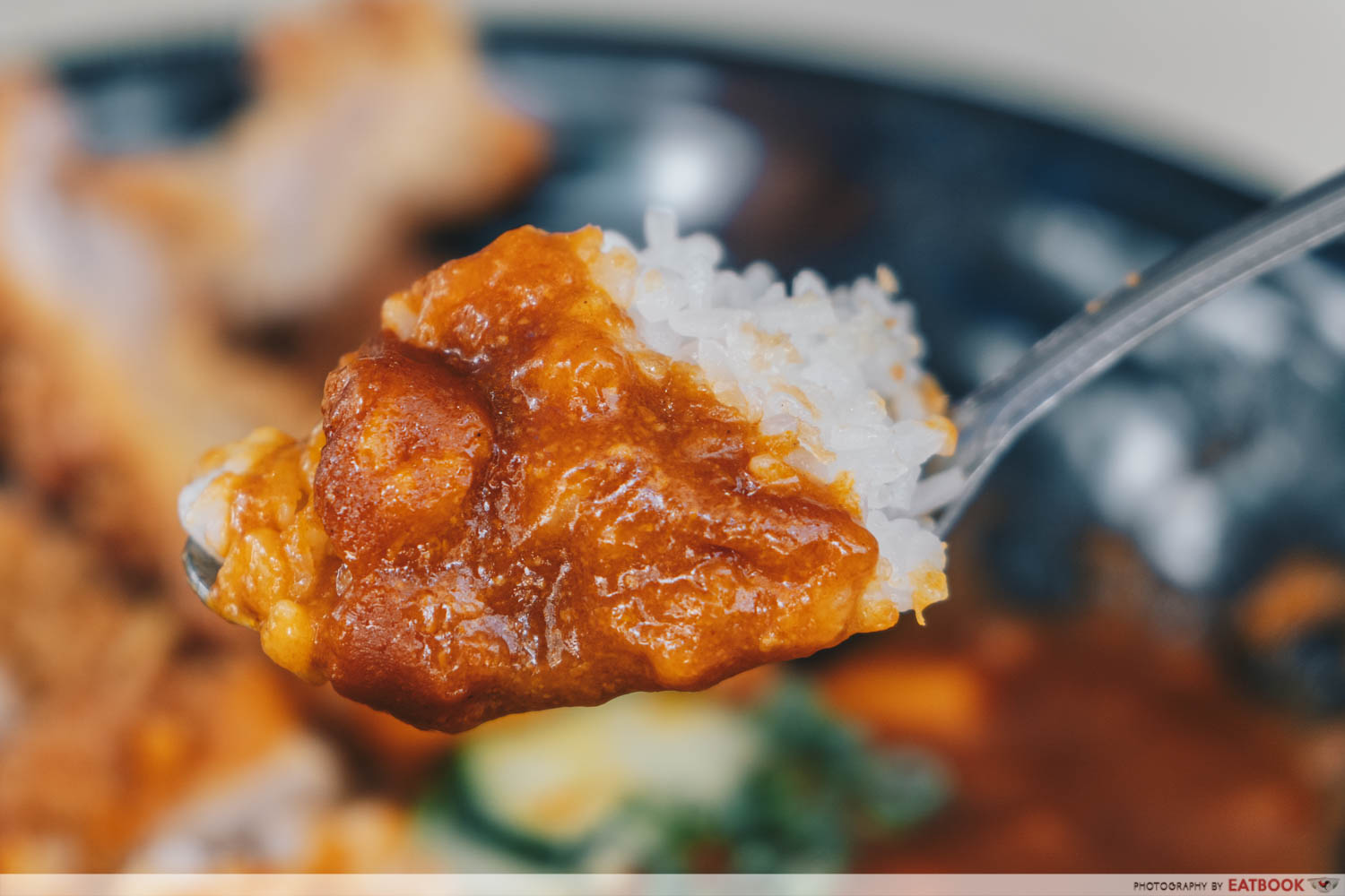 Oiishii Corner - Spoonful of curry and rice