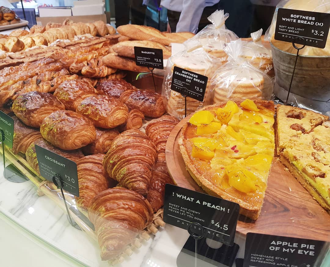 Paris Baguette Croissants - Bread