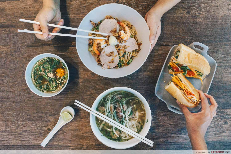 Pho Bo Vietnamese Restaurant - Flatlay