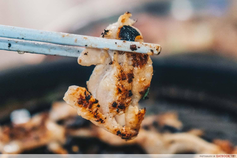 Phuket Town Mookata - Sesame chicken