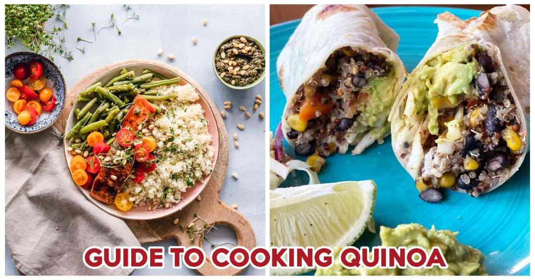 Quinoa recipes COVER
