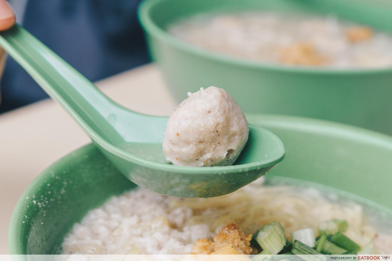 Soon Heng Pork Noodles - Meatball