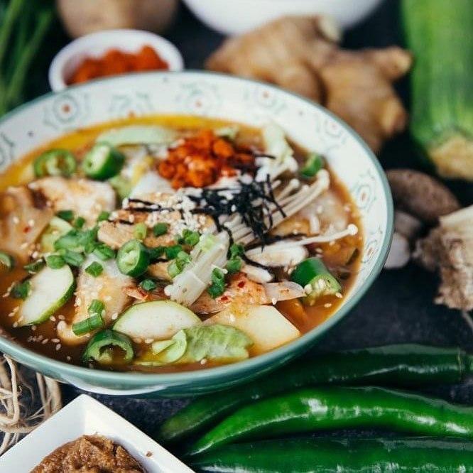 Budae Jigae Soup