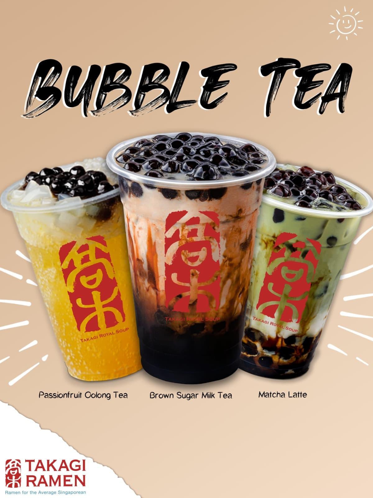 Takagi Ramen 24-hour - Bubble Tea