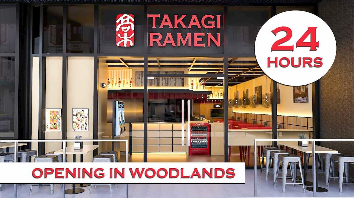Takagi Ramen 24-hour - New outlet