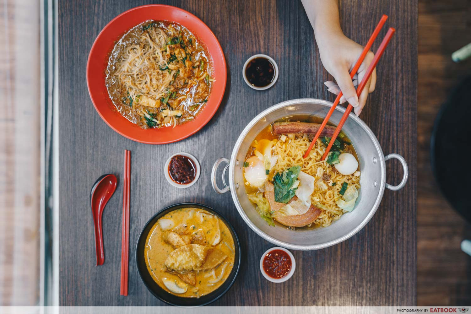 The Noodle House - Flatlay