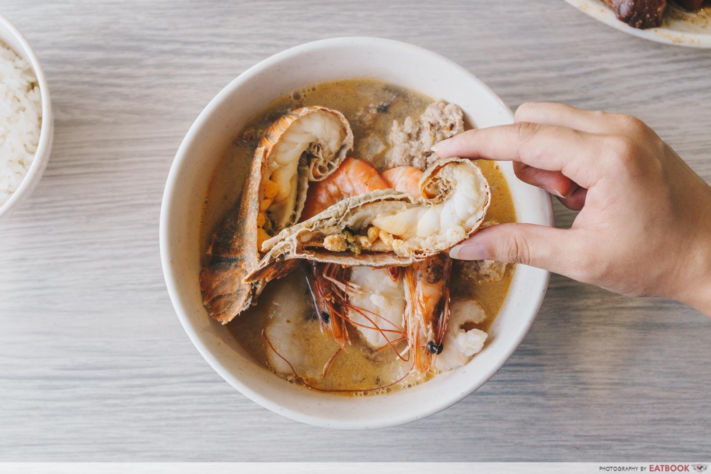 Yan Ji Seafood Soup - Crayfish Soup