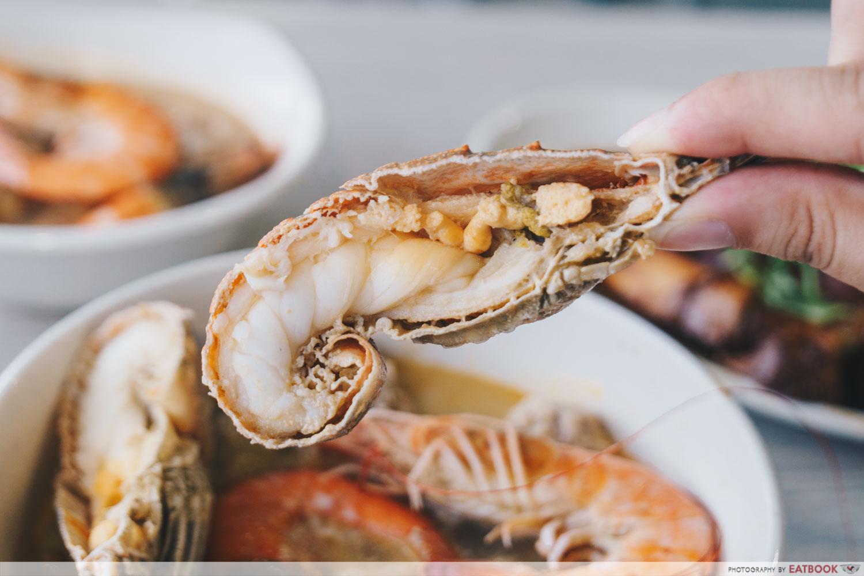 Yan Ji Seafood Soup - Crayfish