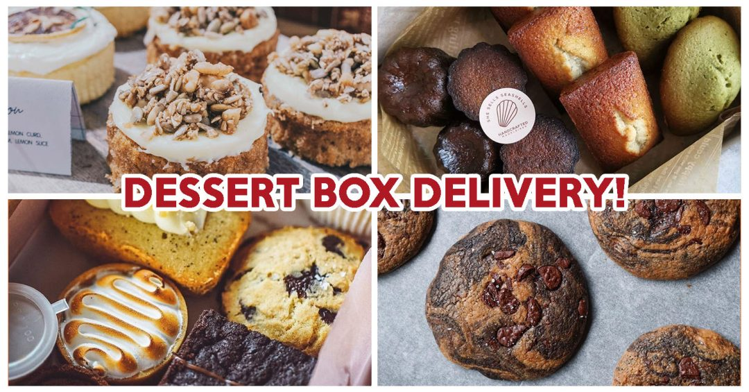 Dessert Box Delivery - Feature Image