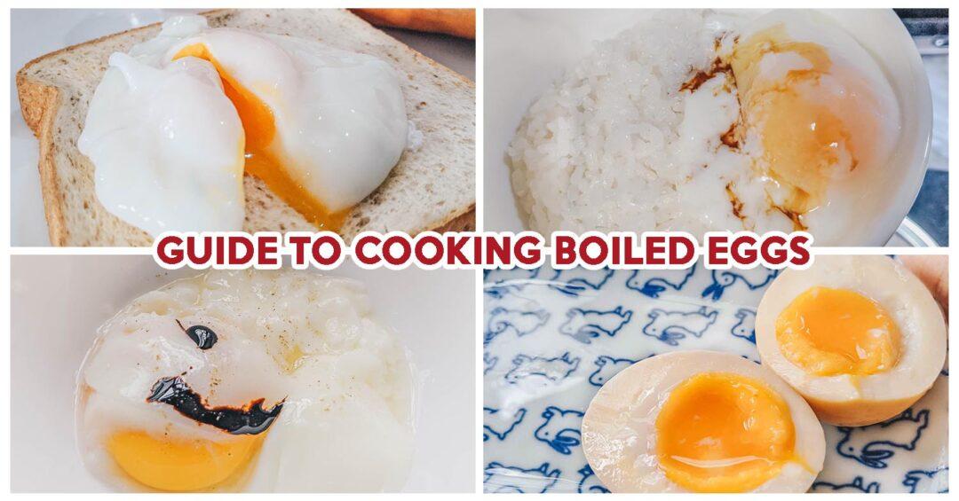 Easy Boiled Egg Recipes