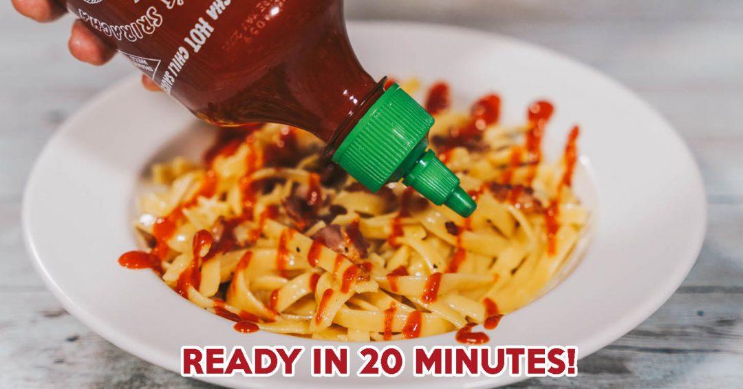 One-Pan Sriracha Pasta COVER