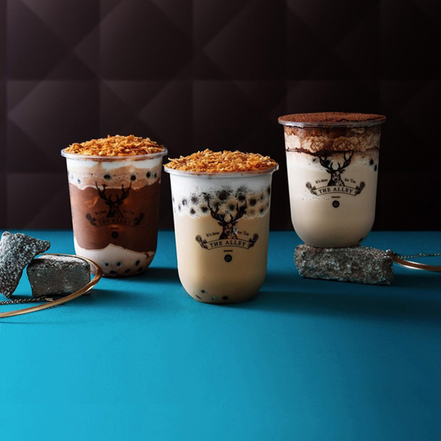 The Alley Has New Crunchy Milk Tea Series With Three Different Flavours