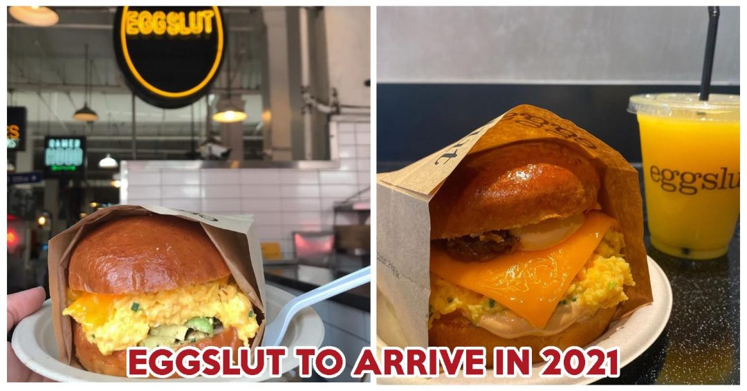 Eggslut Singapore Slut