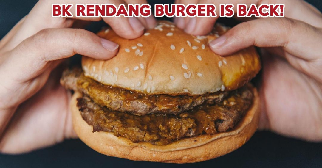 Burger King Rendang Burger