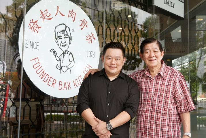 Founder Bak Kut Teh soup family