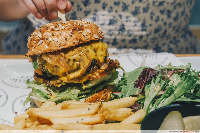 Little Farms Cafe - Australian Wagyu Beef Burger