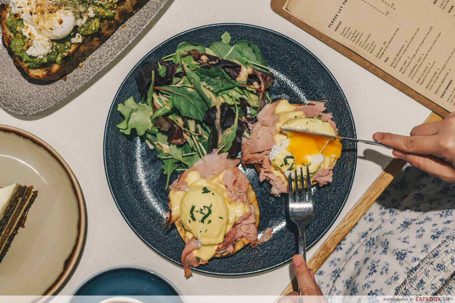 Little Farms Cafe - Eggs Benedict