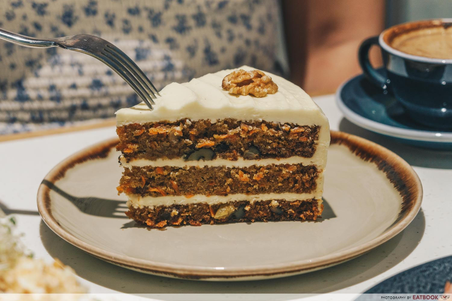 Little Farms Cafe - carrot cake