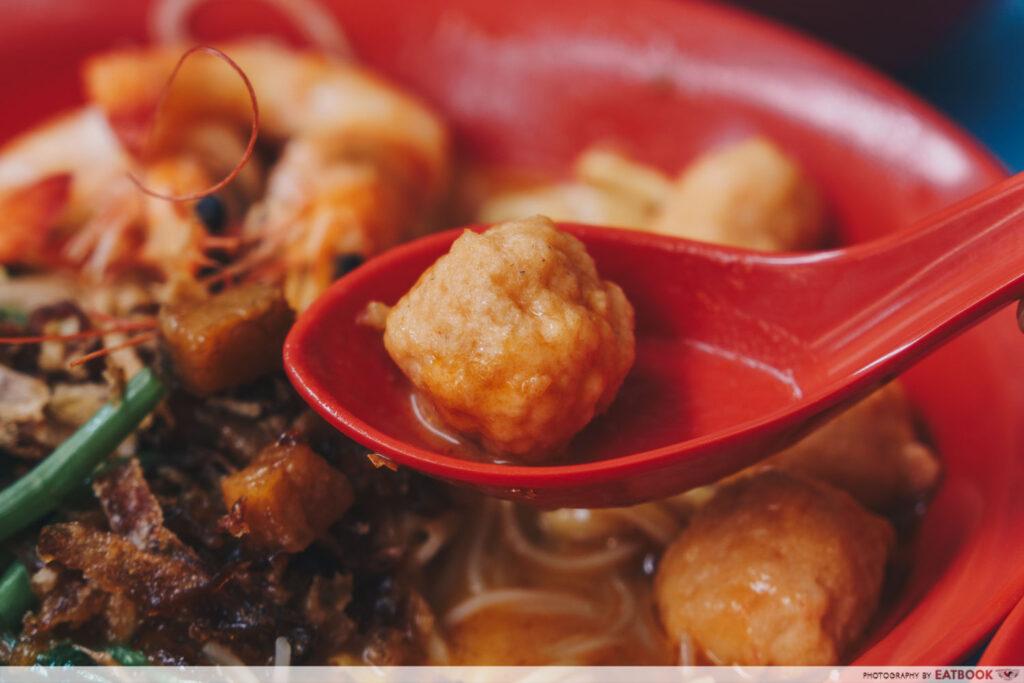 One Prawn Noodle prawn ball