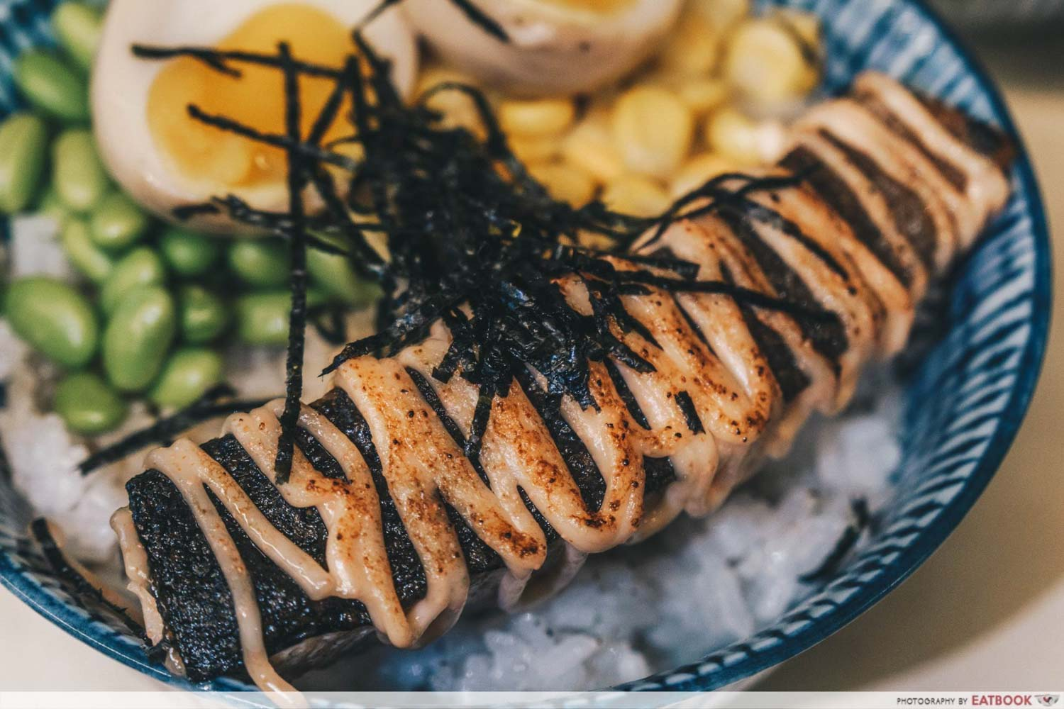 TORCHED meat platter - mentaiko salmon