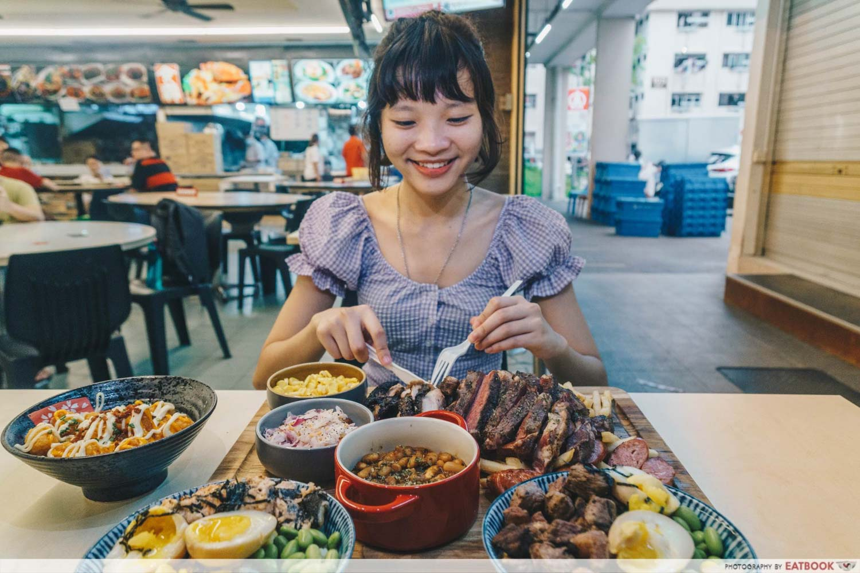 TORCHED meat platter - verdict shot