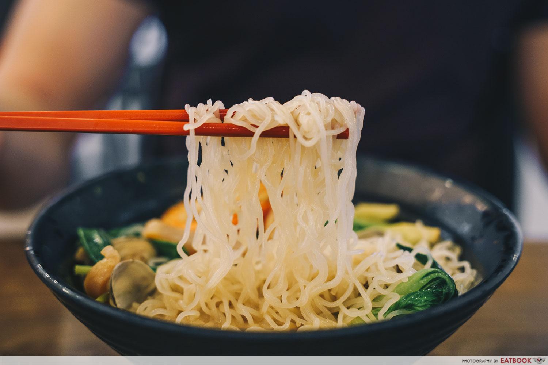 Try Fresh XO Seafood Noodles - Crystal bee hoon XO