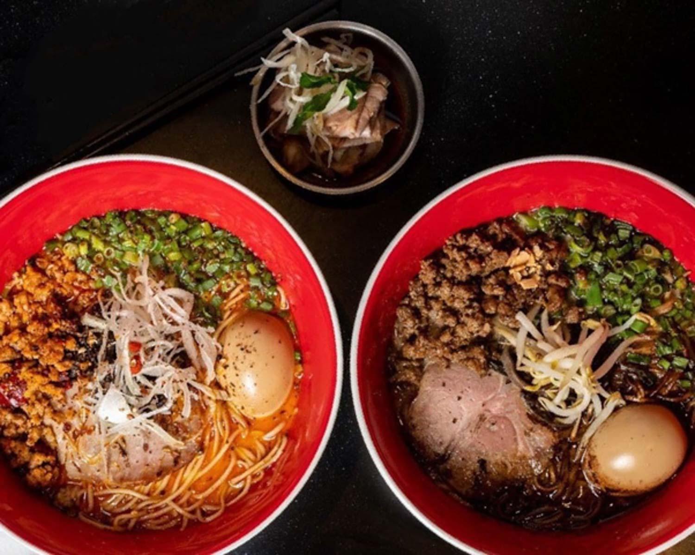 Tsuta 1-For-1 Ramen - ramen bowls