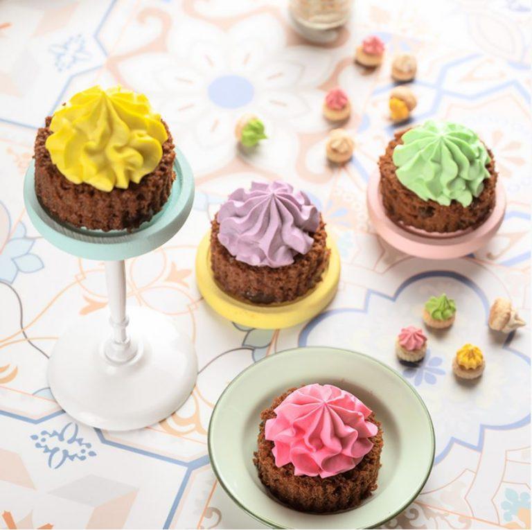 starbucks milo dinosaur cake - iced gem cake