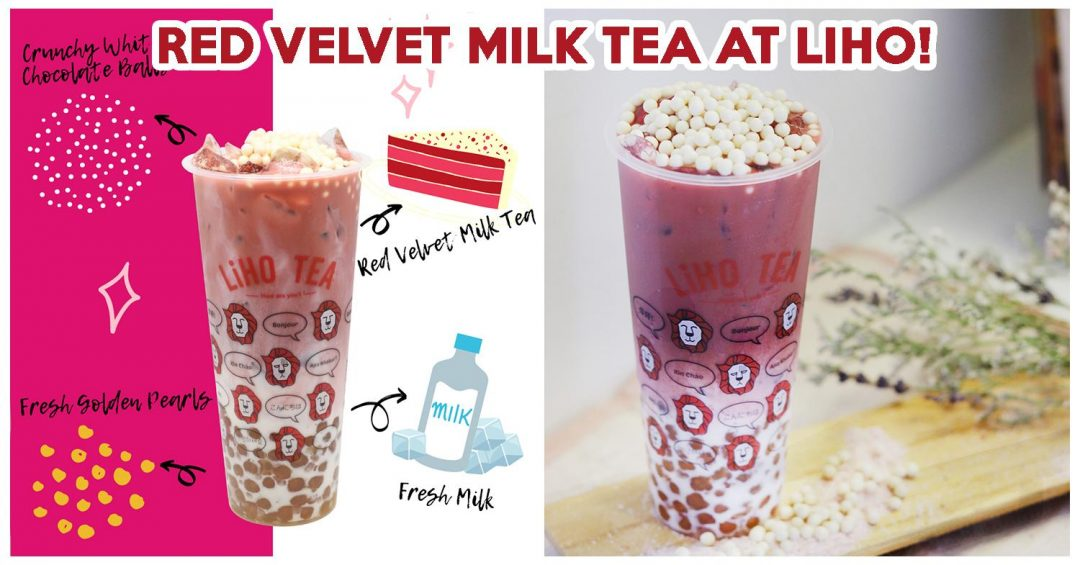 LIHO RED VELVET MILK TEA (1)