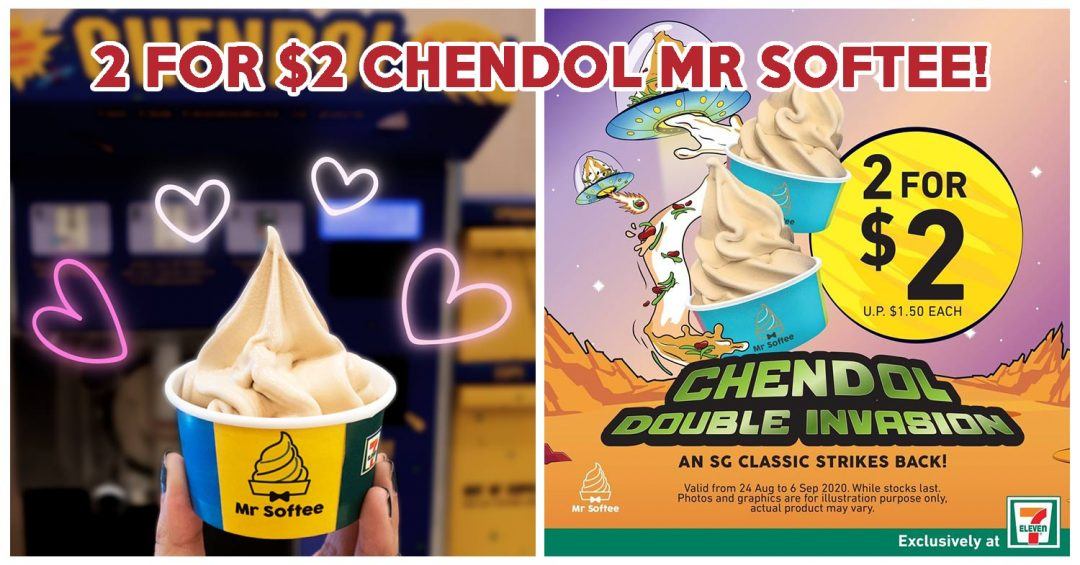 7-Eleven Chendol Mr Softee Deal