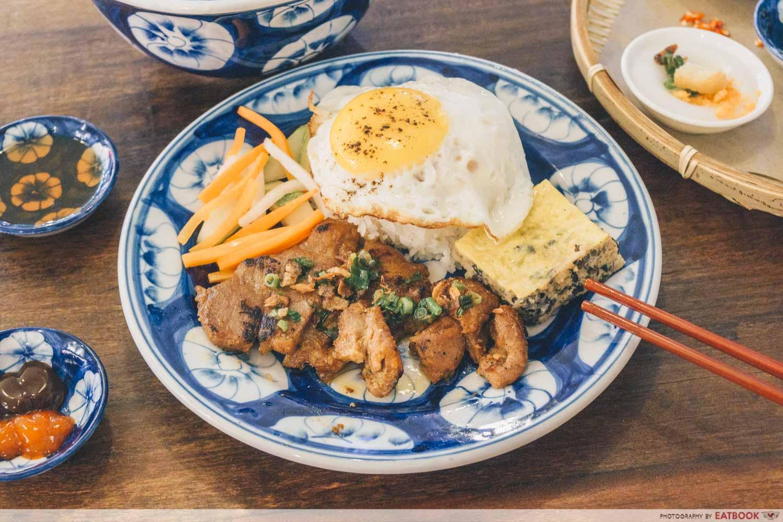 Co Chung - broken rice
