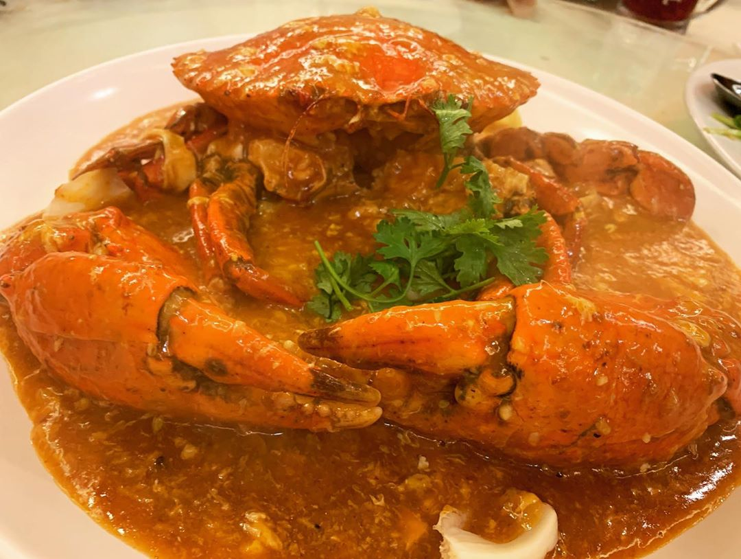 Crab at Bay Seafood Restaurant