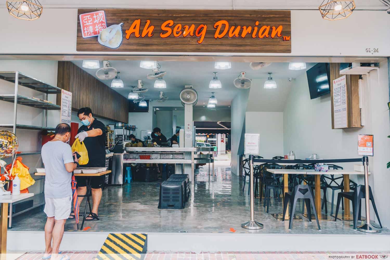 Durian Lab Cafe - Ah Seng Durian