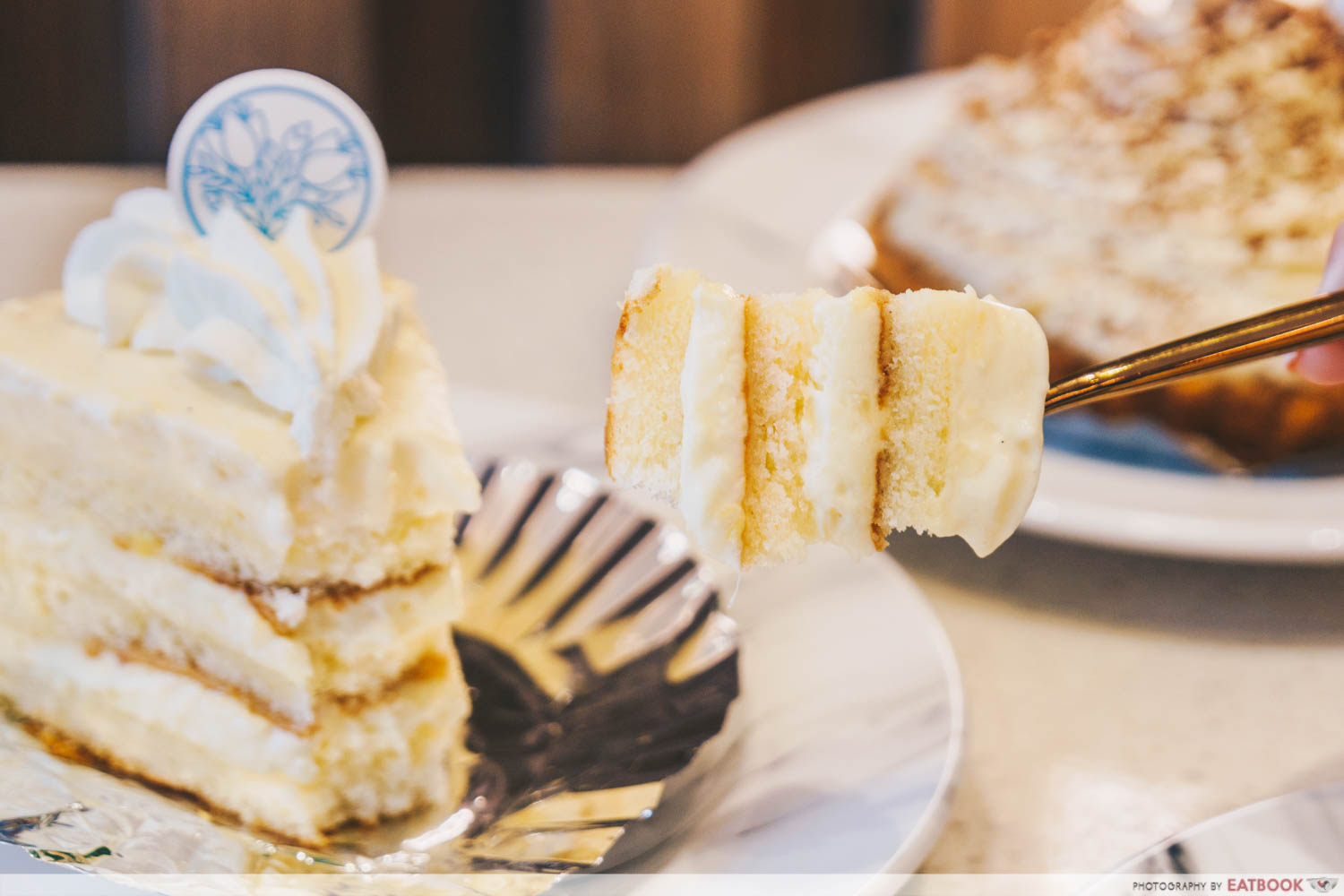 Durian Lab Cafe - Durian shortcake