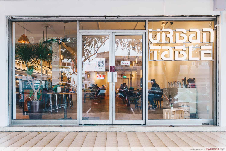 urban table cafe singapore exterior