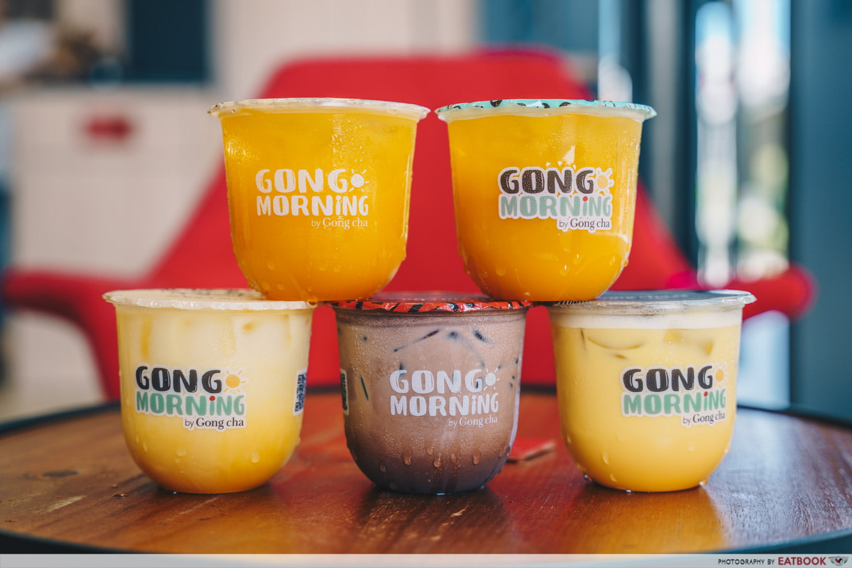 Gong Cha Golden Morning Series