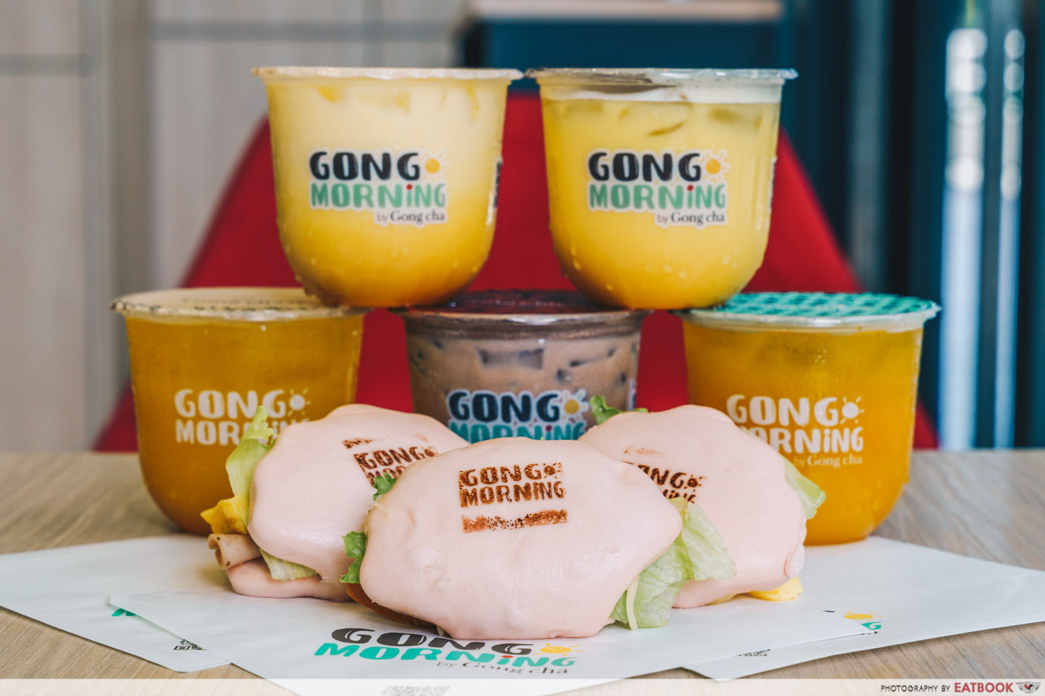 Gong Cha Breakfast Cover