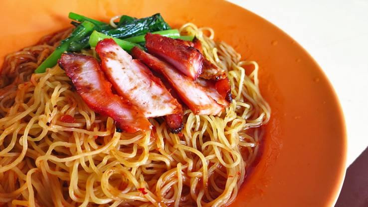 Hawker Wanton Noodle